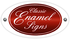 Classic Enamels Signs